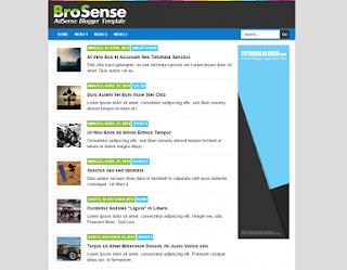 Template Responsive Untuk Mendaftar Google Adsense
