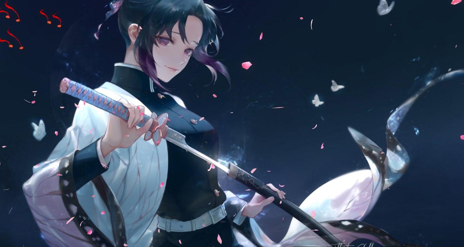Shinobu Kochou Anime Live Wallpaper