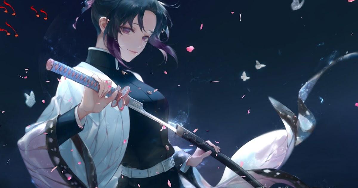 Shinobu Kochou Anime Live Wallpaper Animated Live Desktop Wallpapers