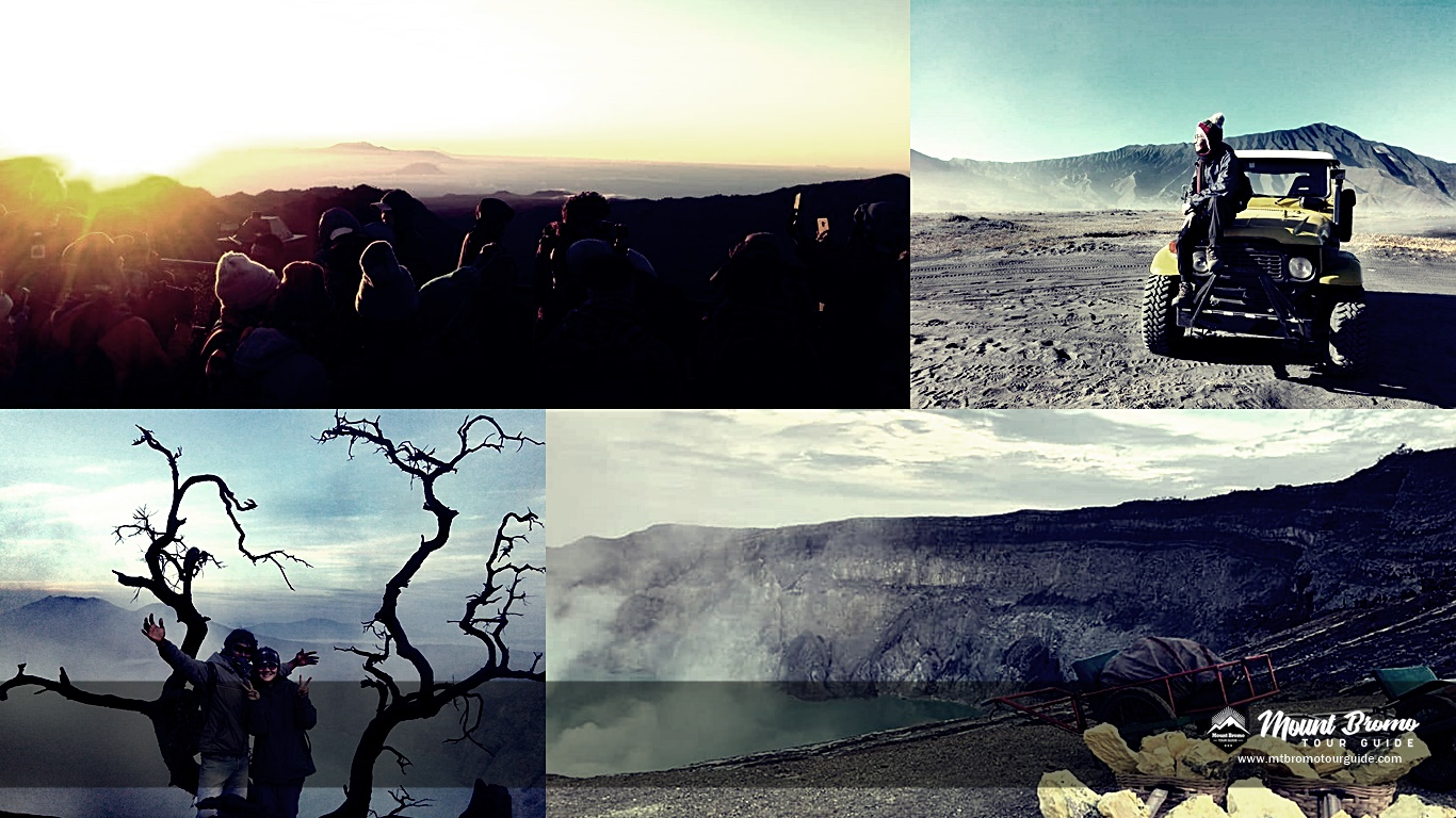 Mount Bromo Ijen Crater trekking tour package 3 days 2 nights