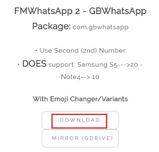 download gbwhatsapp package