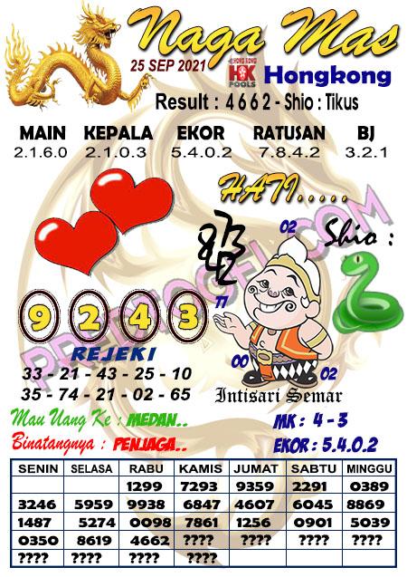 Syair Hk Nagamas Sabtu 25 September 2021