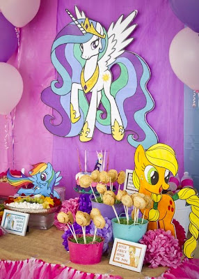 Decoración de Fiestas Infantiles de My Little Pony