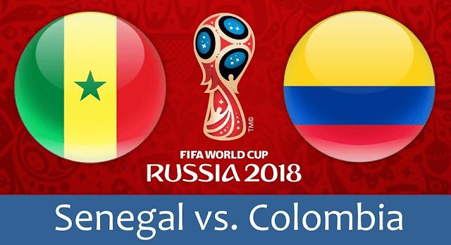 Senegal vs Colombia Full Match Replay 28 June 2018
