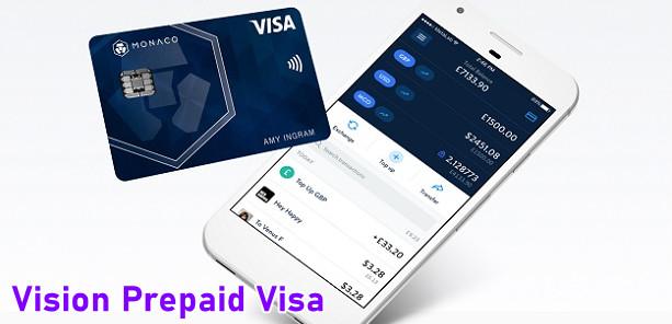 Vision Prepaid Visa