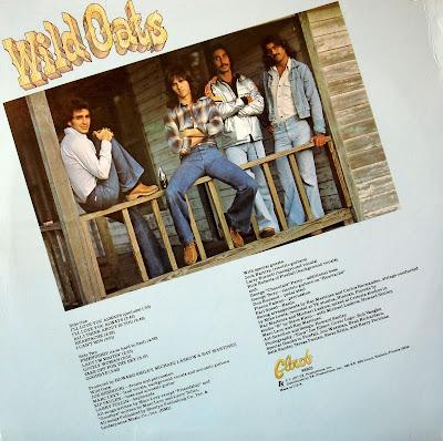Wild Oats - Wild Oats - 1977 (back)