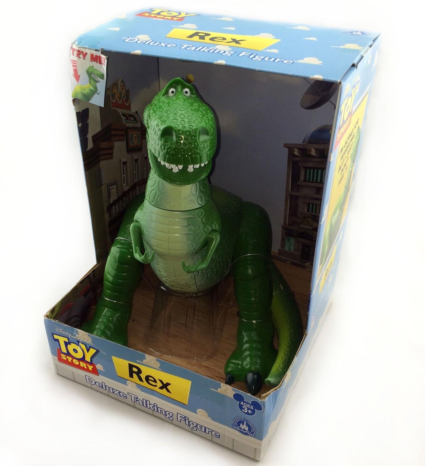 Dan the Pixar Fan  Toy Story  Disney Parks Rex Deluxe Talking Figure c0069d8e5b7