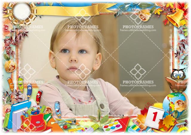 Marco para fotos de Jardín de Niños ( Kindergarten )