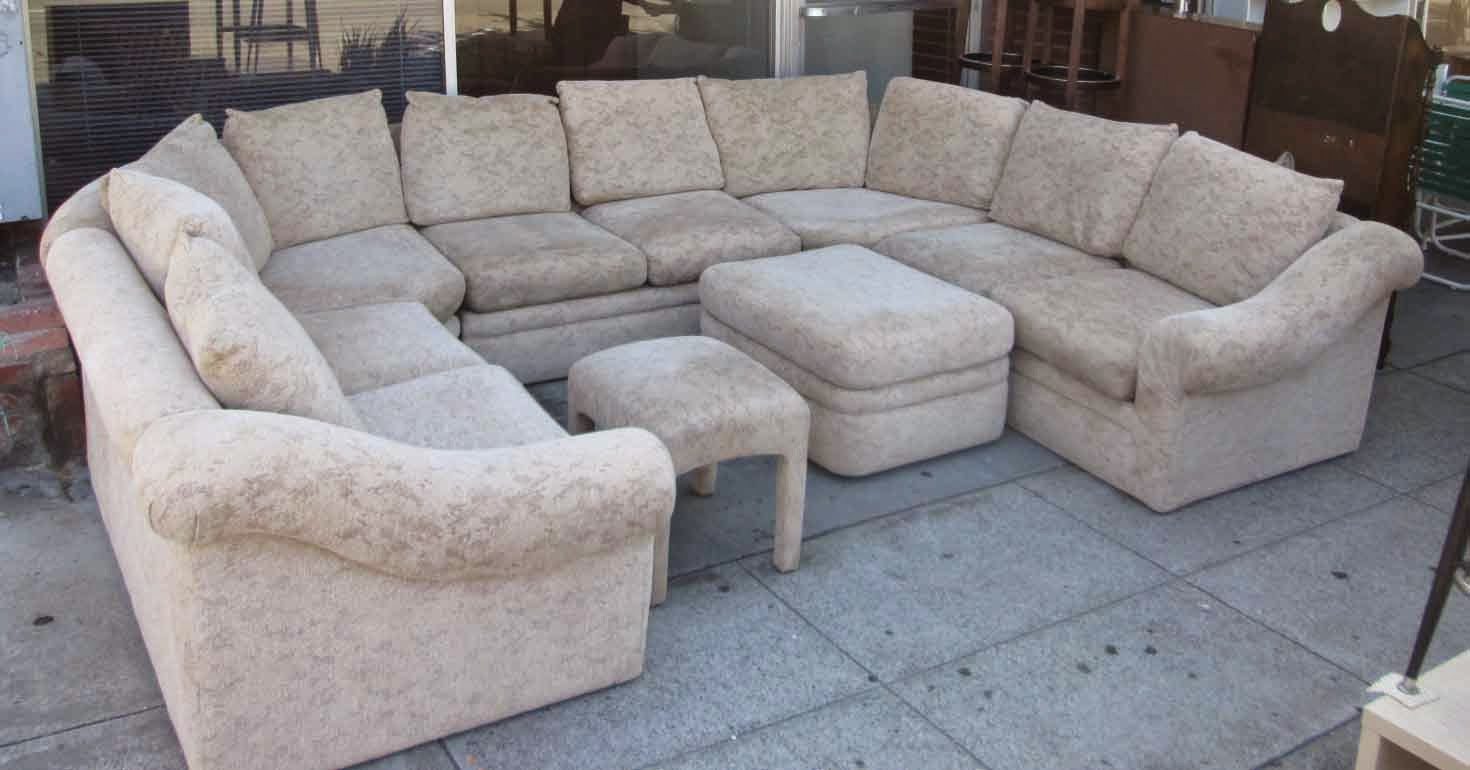 UHURU FURNITURE & COLLECTIBLES: SOLD 7-Piece Sectional ...