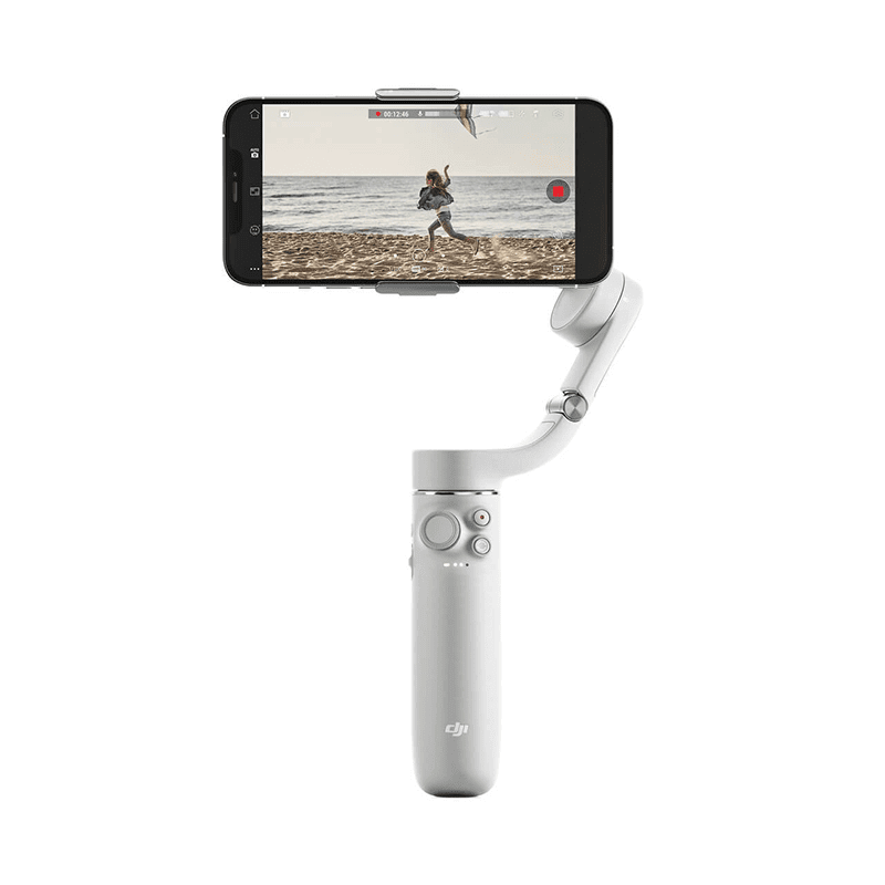 DJI just unveiled OM 5, a smartphone stabilizer that doubles up as a selfie stick