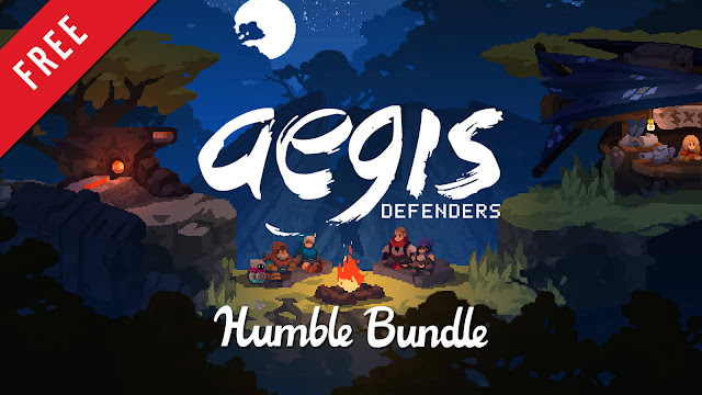 aegis defenders free pc game humble store 2018 action-platformer tower defense game guts department