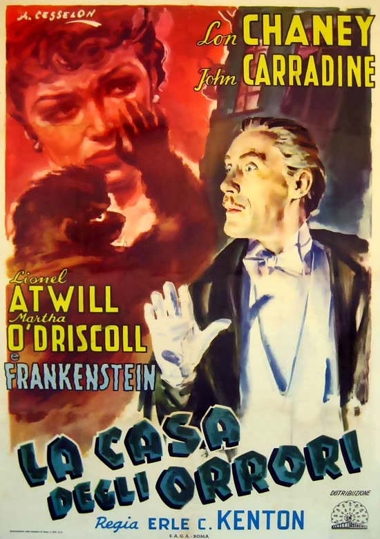 ea914a008ad Frankensteinia  The Frankenstein Blog  More Casa degli orrori Posters