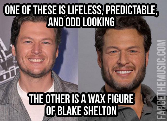 waxblake farce the music monday morning memes luke bryan, blake shelton