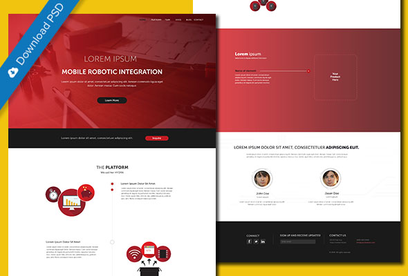 Robotics PSD Template