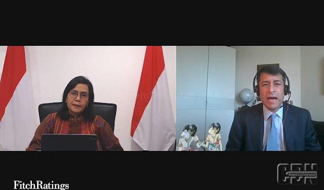 Sri Mulyani Pamer Rendahnya Utang Indonesia ke Bos Fitch Ratings