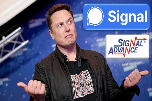 بعد تغريدة واحدة من إيلون ماسك.. تطبيق Signal يصبح الأعلى تحميلا في App Store!A