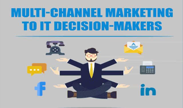 Multi-Channel Marketing for IT Decision Makers #infographic