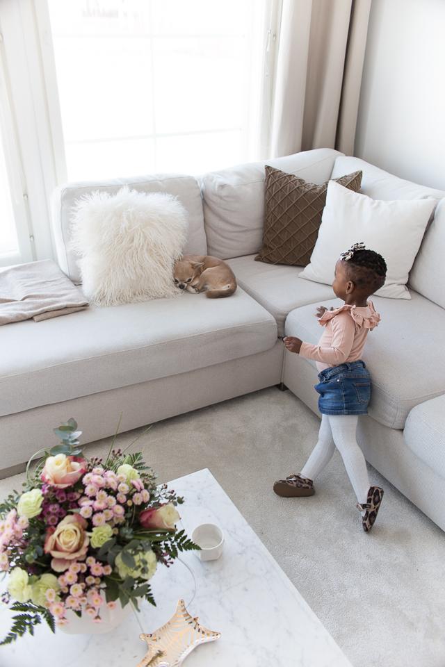 Villa H, lastenvaatteet, lapset, tyyli, koti, olohuone, chihuahua
