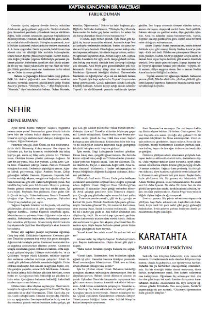 Öykü Gazetesi 32.Sayı Sayfa 3
