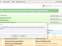 How to access the manager GUI of tomcat service