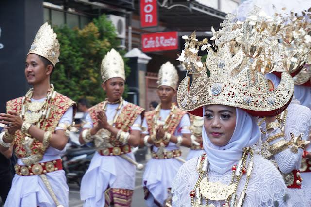 Bagian dari rangkaian Lampung Krakatau Festival 2017
