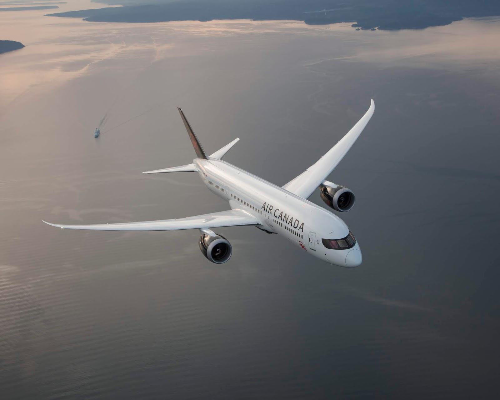 AIR CANADA BOEING 787 DREAMLINER OTTAWA-LONDRES 1