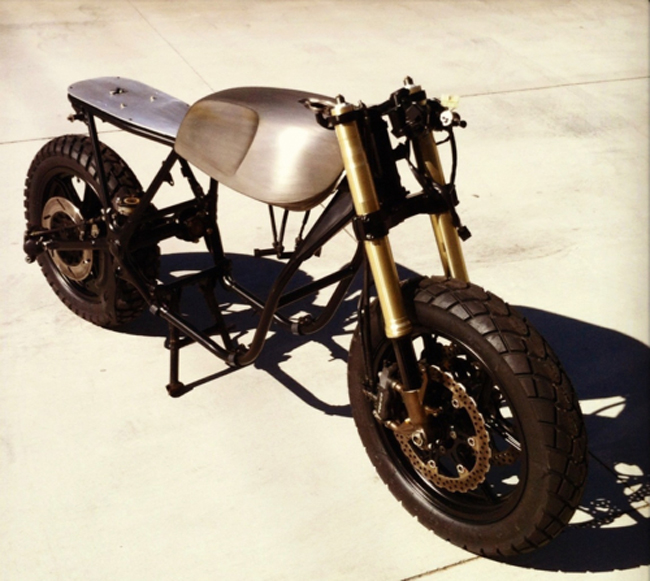 Yamaha XS850 cafe racer custom build