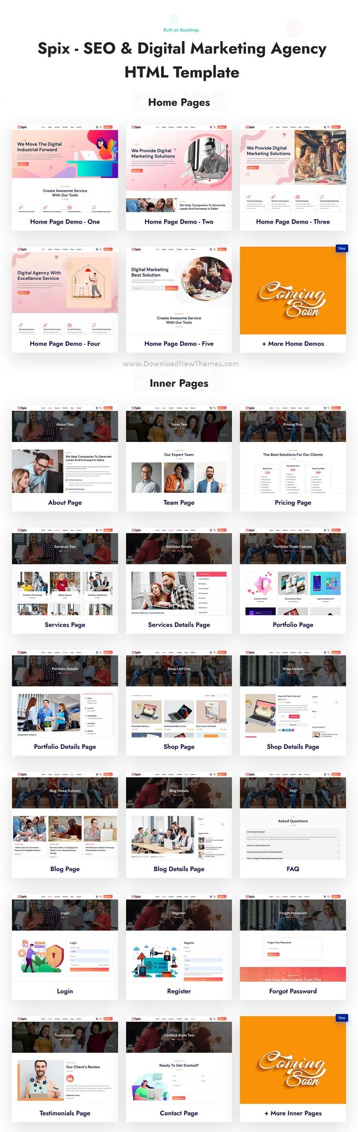 SEO & IT Agency HTML Template