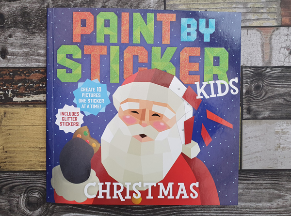 Ideal Stocking Filler this Christmas the Paint by Stickers Book Set