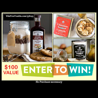 Enter the Win Free Vanilla Contest