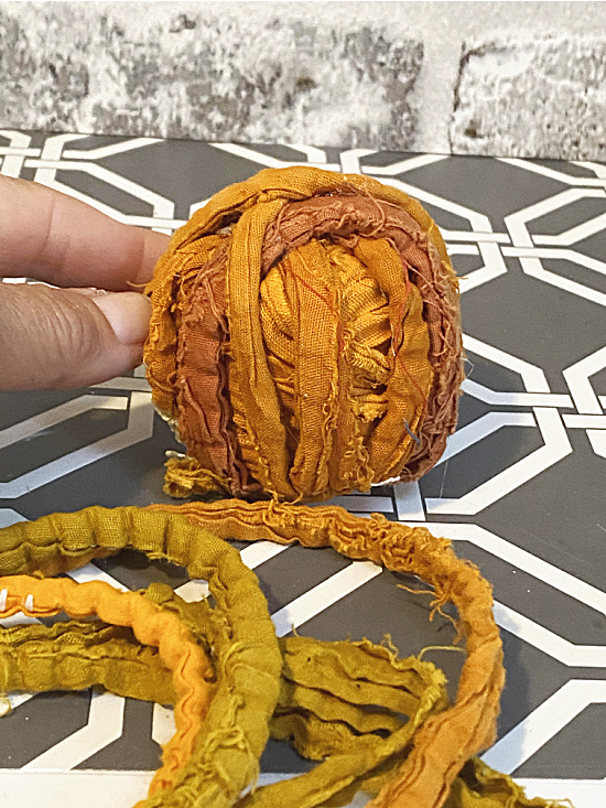 rag wrapped cork