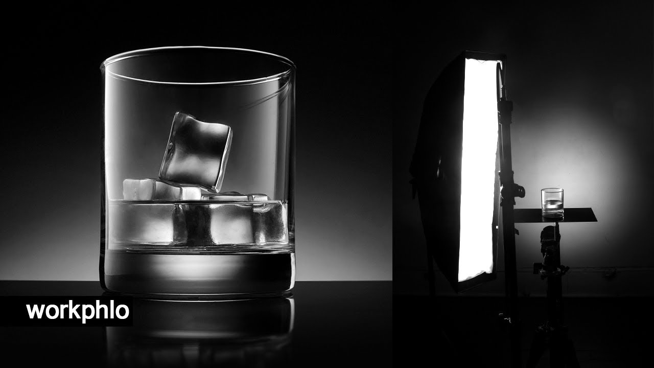 Atmospheric Glassware Lighting Tutorial | 2 Speedlight Setup & Photoshop