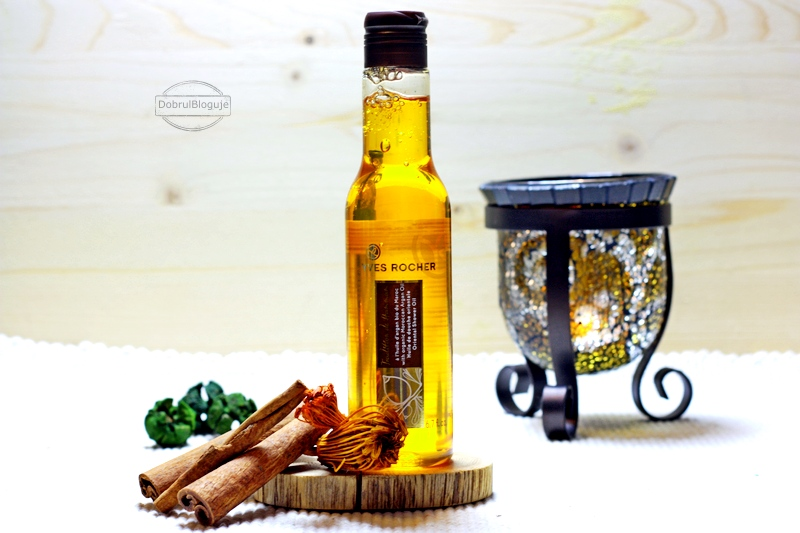 YVES ROCHER- Traditionn de Hammam. Oliwka pod prysznic z olejkiem arganowym.