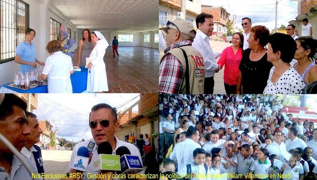NotiExclusivas #RSY: Gestión y obras caracterizan la politica del Gobernador William Villamizar en NdeS