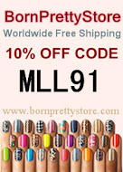 Born Pretty Store 10% off Coupon!