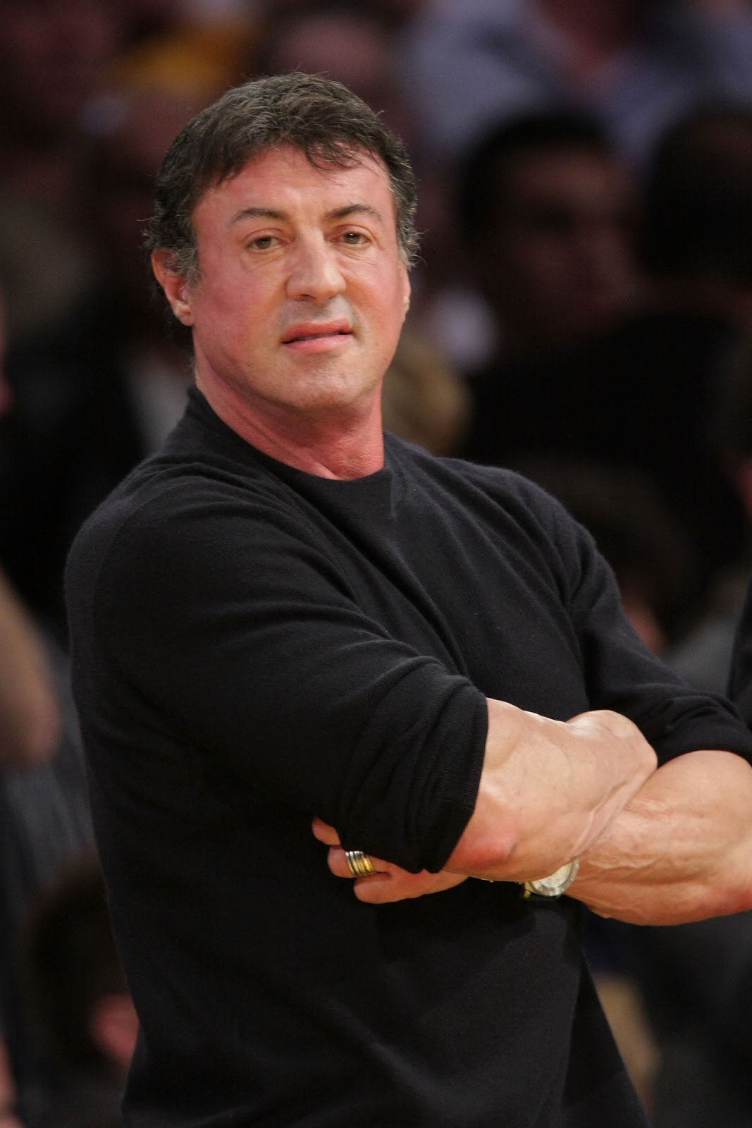 I Was Here.: Sylvester Stallone