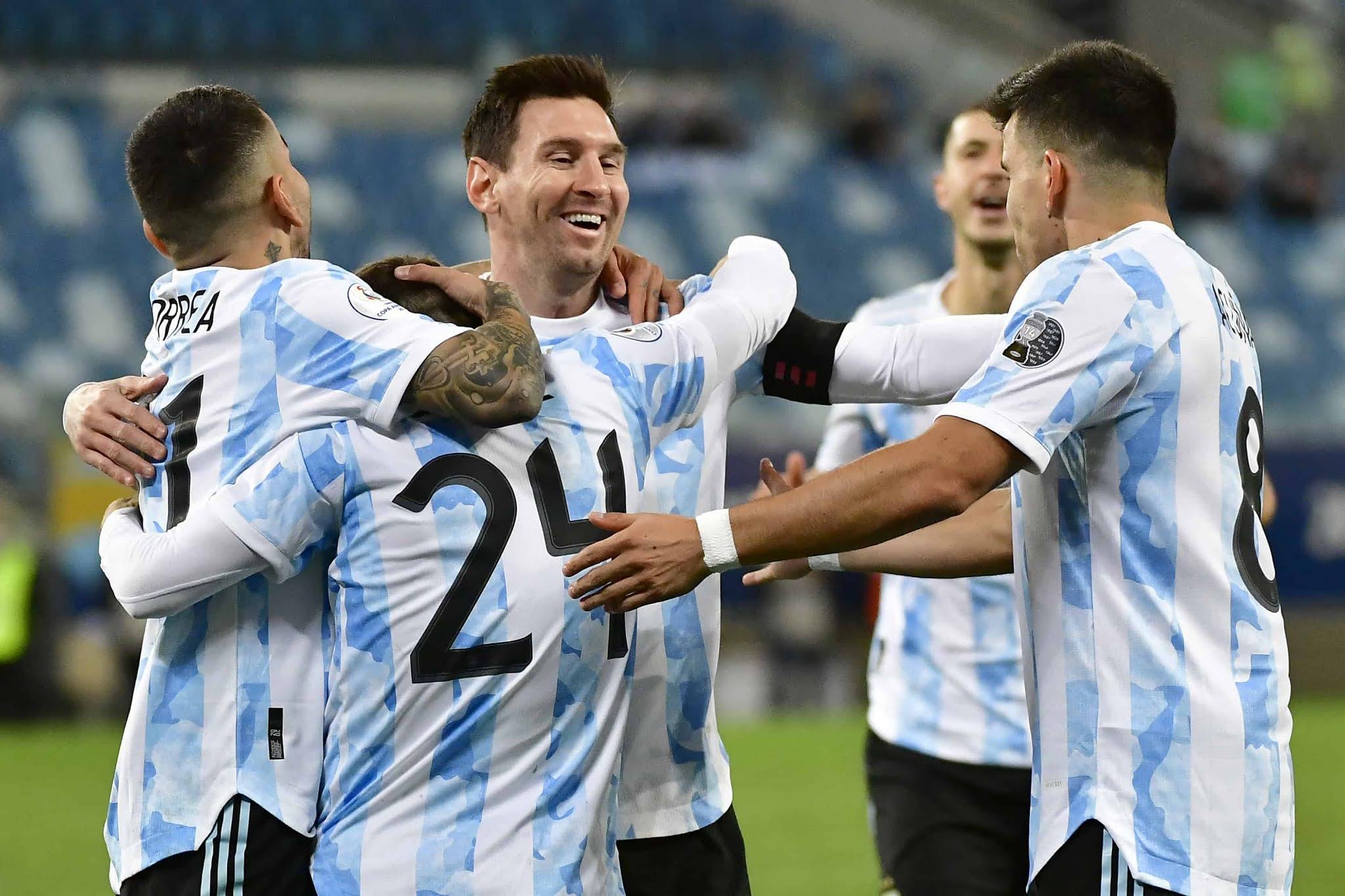 De la mano de un Messi histórico, Argentina goleó a Bolivia y crece en confianza