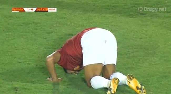 اهداف مباراة سيراميكا كليوباترا و الانتاج الحربى