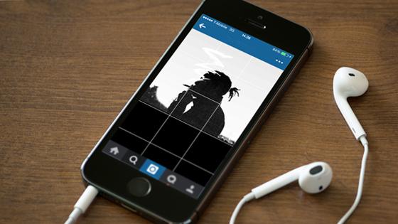 Upload Foto Grid Instagram Promosi Bisnis