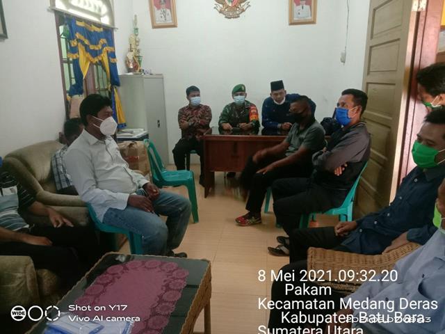 Perbaharui Data Wilayah, Personel Jajaran Kodim 0208/Asahan Laksanakan Komsos Di Kantor Desa
