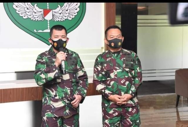 Panglima TNI Mendukung Langkah Pangdam Jaya Turunkan Baliho HRS