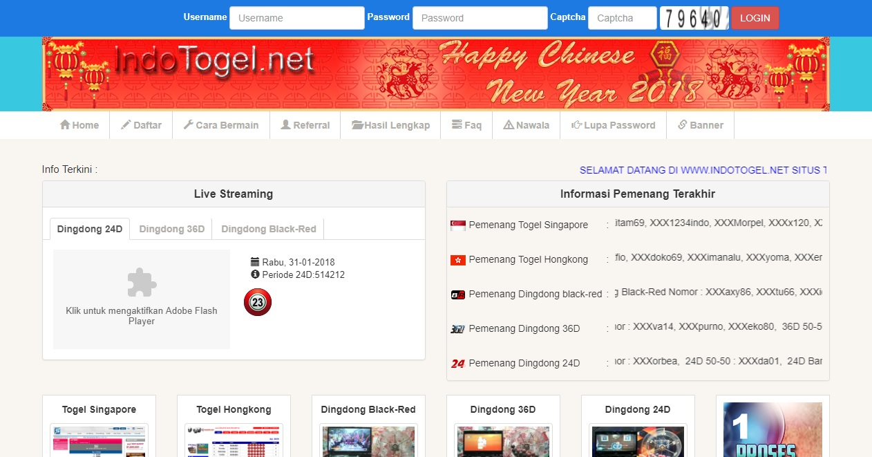 Software Togel - Togel Singapore