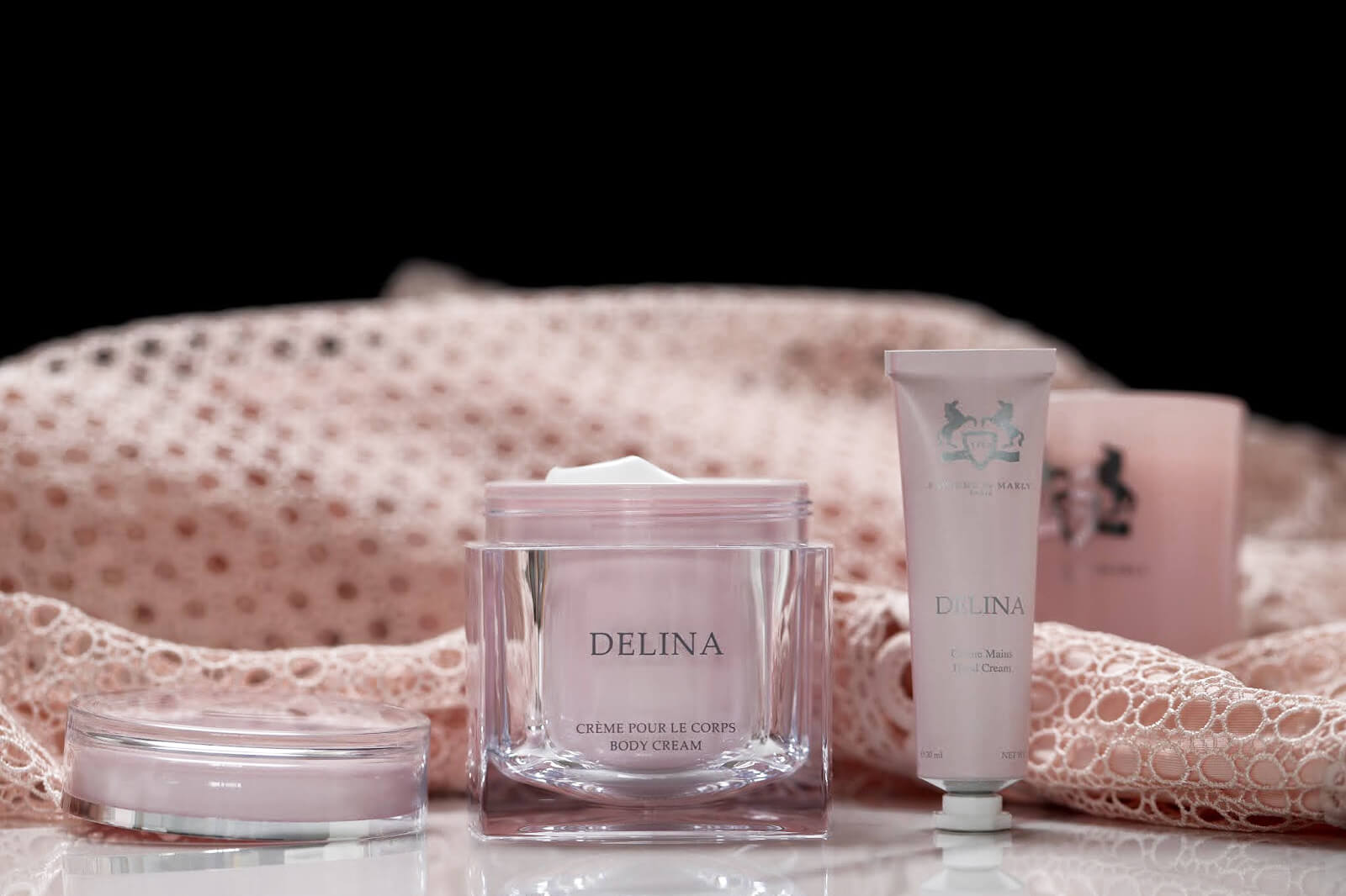 Delina Parfums de Marly Soins Corps Bougie test