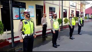 Jurus Jitu,Kasat Lantas Polres Gowa Tanamkan Disiplin Personilnya