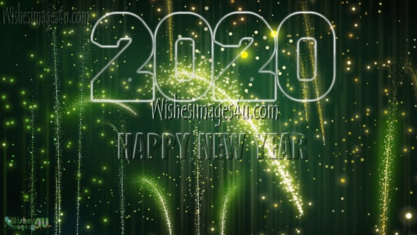 Happy New Year 2020 1080p Sparkling Pics
