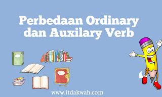 Perbedaan Ordinary dan Auxilary Verb