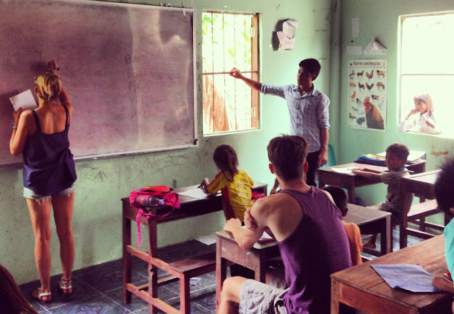 What Voluntourism taught me, Cambodia