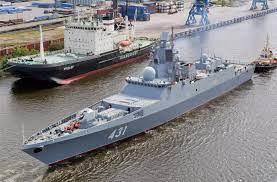 Russian Navy's frigate Admiral Kasatonov