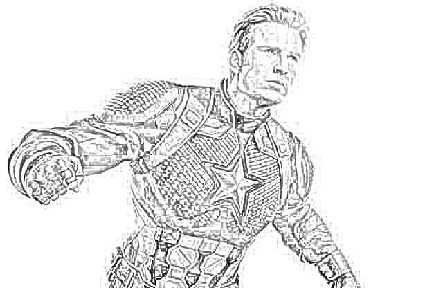 avengers 4 coloring pages free