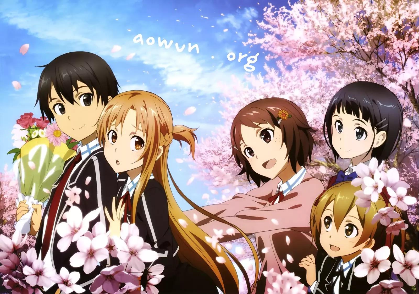 SAO AowVN.org min - [ Anime 3gp Mp4 ] Sword Art Online SS1 + SS2 BD + Movie Extra | Vietsub - Siêu Phẩm